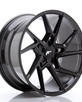 JR Wheels JR33 20×10 ET20-40 5H BLANK Hyper Gray