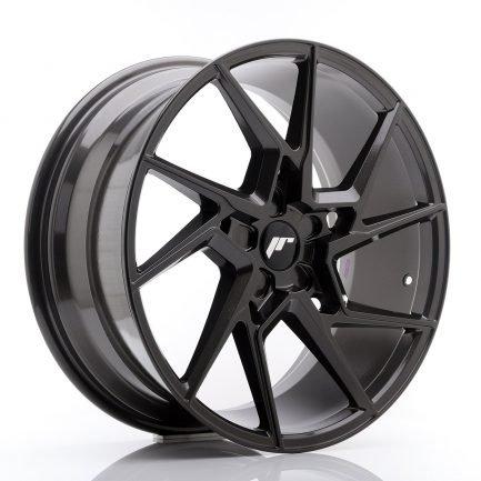 JAPAN RACING JR Wheels JR33 20x9 ET40-48 5H BLANK Hyper Gray 9.00x20