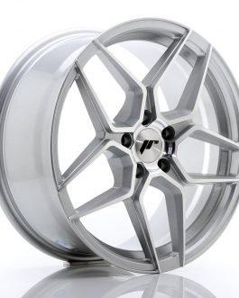 JR Wheels JR34 18×8 ET42 5×112 Silver Machined Face