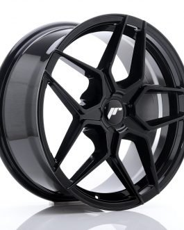 JR Wheels JR34 18×8 ET20-42 5H BLANK Glossy Black
