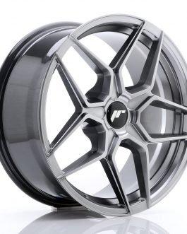 JR Wheels JR34 18×8 ET20-42 5H BLANK Hyper Black
