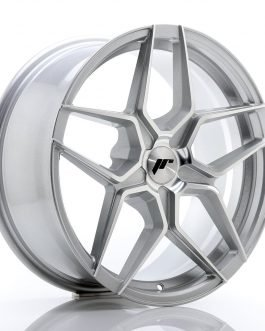 JR Wheels JR34 18×8 ET20-42 5H BLANK Silver Machined Face