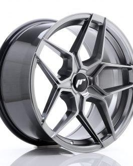 JR Wheels JR34 18×9 ET20-42 5H BLANK Hyper Black
