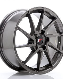 JR Wheels JR36 18×8 ET20-52 5H BLANK Hyper Gray