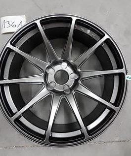 JR Wheels JR11 20×10 ET20-40 5H BLANK Hyper Black 4kpl