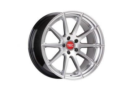 TEC Speedwheels GT7 Hyper Silver CB: 72.5 8.5x19 ET: 45 - 5x108