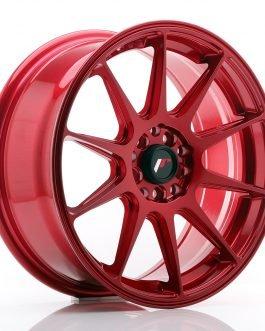 JR Wheels JR11 17×7,25 ET35 5×100/114,3 Platinum Red