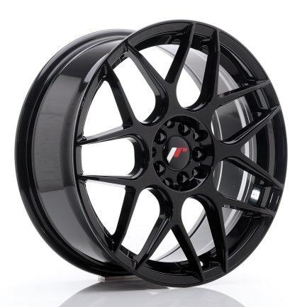 JAPAN RACING JR Wheels JR18 18x7,5 ET40 5x112/114 Glossy Black 7.50x18