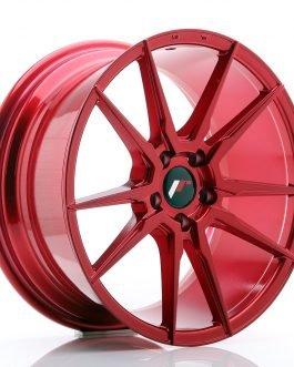 JR Wheels JR21 18×8,5 ET40 5×114,3 Platinum Red