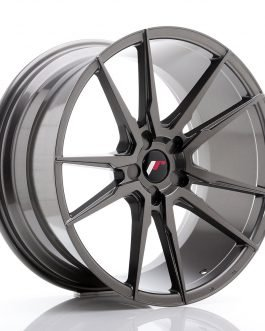 JR Wheels JR21 20×10 ET20-40 5H Blank Hyper Gray