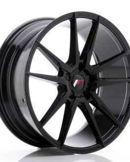 JR Wheels JR21 20×8,5 ET20-40 5H BLANK Glossy Black