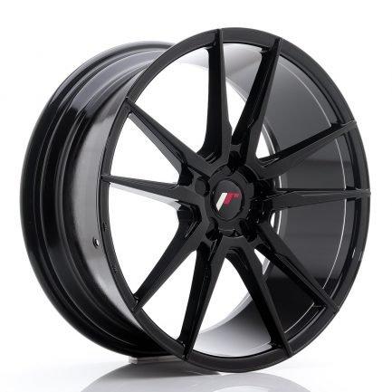 JAPAN RACING JR Wheels JR21 20x8,5 ET20-40 5H BLANK Glossy Black 8.50x20