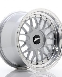 JR Wheels JR23 16×9 ET20-35 BLANK Hyper Silver w/Machined Lip