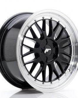 JR Wheels JR23 18×8,5 ET25-48 5H BLANK Gloss Black w/Machined Lip