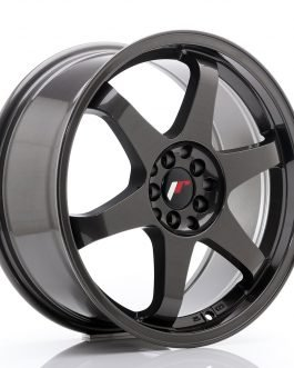 JR Wheels JR3 18×8 ET35 5×100/120 Hyper Gray