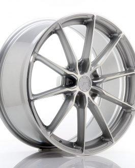 JR Wheels JR37 20×9 ET20-45 5H BLANK Silver Machined Face