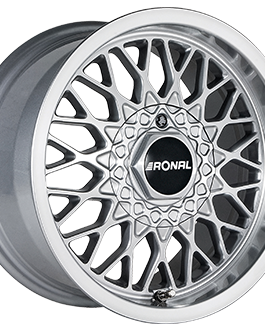 Ronal LS Silver / Polished 7.5×15 ET: 25 – 4×100