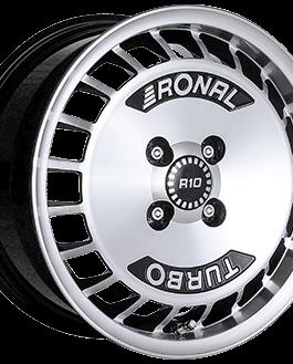 Ronal R10 TURBO Gloss Black / Polished 7.0×15 ET: 37 – 4×100