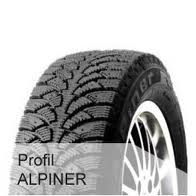 Profil Alpiner -pinnoitettu- 175/65-15