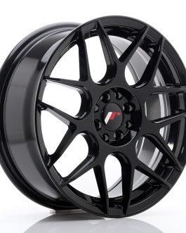JR Wheels JR18 17×7 ET40 4×100/108 Glossy Black
