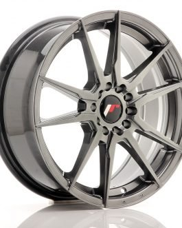 JR Wheels JR21 17×7 ET40 5×108/112 Hyper Black