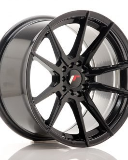 JR Wheels JR21 17×9 ET20 4×100/114 Gloss Black