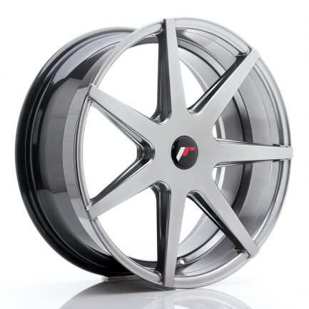 JAPAN RACING JR Wheels JR21 18x8,5 ET30-40 5H BLANK Glossy Black 8.50x18
