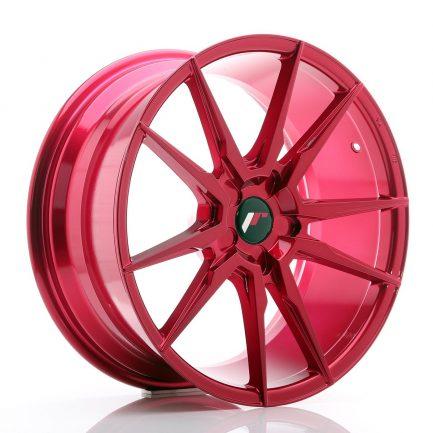 JAPAN RACING JR Wheels JR21 19x8,5 ET35-43 5H BLANK Platinum Red 8.50x19