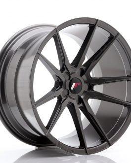 JR Wheels JR21 20×11 ET20-30 5H BLANK Hyper Gray