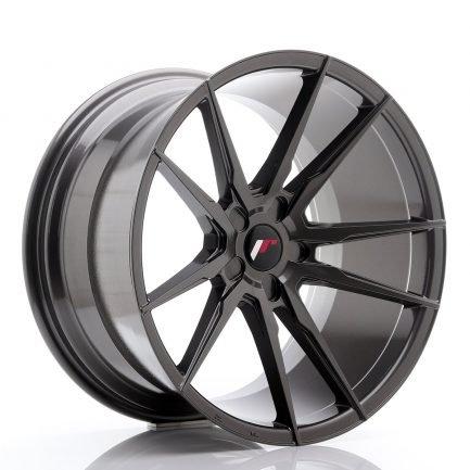 JAPAN RACING JR Wheels JR21 20x11 ET20-30 5H BLANK Hyper Gray 11.00x20