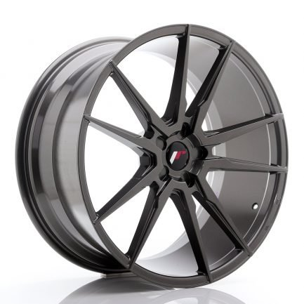 JAPAN RACING JR Wheels JR21 22x10,5 ET15-52 5H BLANK Hyper Gray 10.50x22