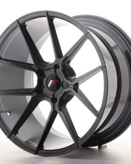 JR Wheels JR30 20×11 ET30-50 5H BLANK Hyper Black