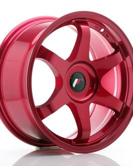 JR Wheels JR3 17×8 ET35 BLANK Platinum Red