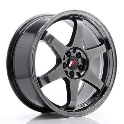 JAPAN RACING JR Wheels JR3 18x8 ET40 5x112/114 Dark Hyper Black 8.00x18