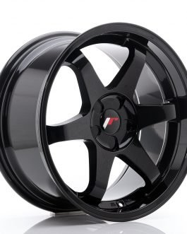 JR Wheels JR3 18×9 ET35-40 5H BLANK Glossy Black