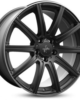 Keskin-Tuning KT16 Matt Black Lip Polish 8.5×19 ET: 30 – 5×112