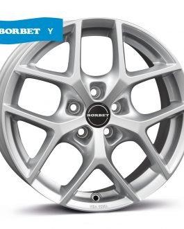 Borbet Y hyper silver 8×19 ET: 44 – 5×112