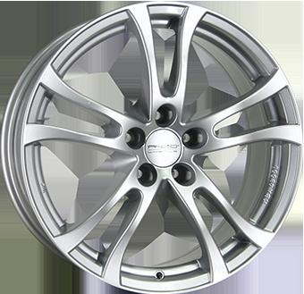 ANZIO TURN Silver 6.5x16 ET: 45 - 5x112