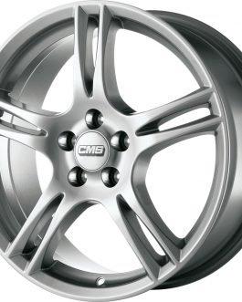 CMS C9 Silver 7×16 ET: 45 – 5×114.3