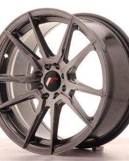 JR Wheels JR21 17×8 ET25 4×100/108 Hyper Black