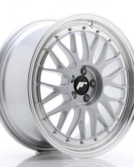 JR Wheels JR23 18×8 ET40 5×112 Hyper Silver w/Machined Lip