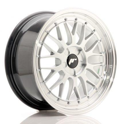 JAPAN RACING JR Wheels JR23 18x8,5 ET40-48 5H BLANK Hyper Silver w/Machined Lip 8.50x18