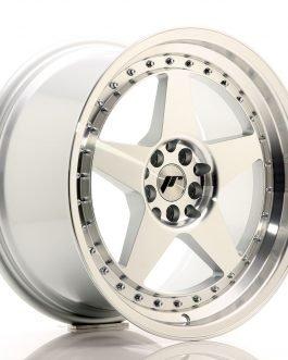 JR Wheels JR6 18×9,5 ET40 5×112/114,3 Silver Machined Face