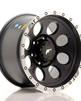 JR Wheels JRX4 16×9 ET-10 6×114.3 Matt Black w/Machined Lip