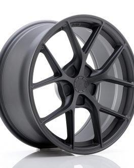 JR Wheels SL01 18×8 ET20-40 5H BLANK Matt Gun Metal