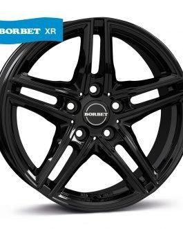 Borbet XR black glossy 7.5×17 ET: 45 – 5×112