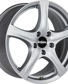 Ronal R42 Crystal Silver 6.0×15 ET: 43 – 4×100