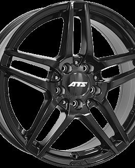 ATS MIZAR Gloss Black 8.5×18 ET: 48 – 5×112