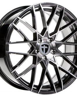 Tomason TN19 Dark Hyper black polished 9.0×21 ET: 30 – 5×120