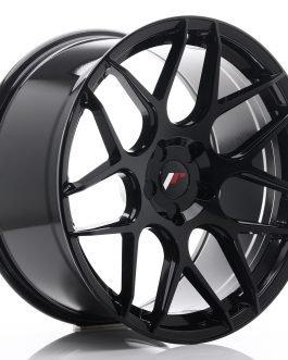 JR Wheels JR18 20×10 ET20-45 5H BLANK Glossy Black
